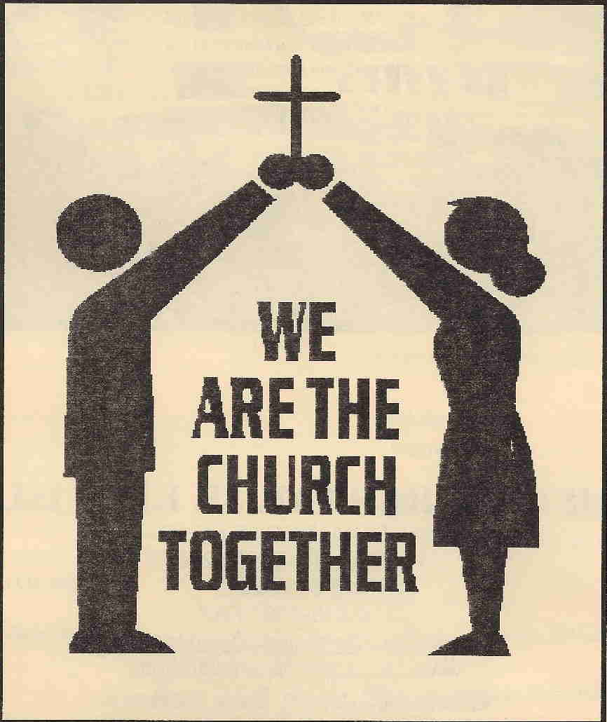 We Are the Church Together Clip Art
